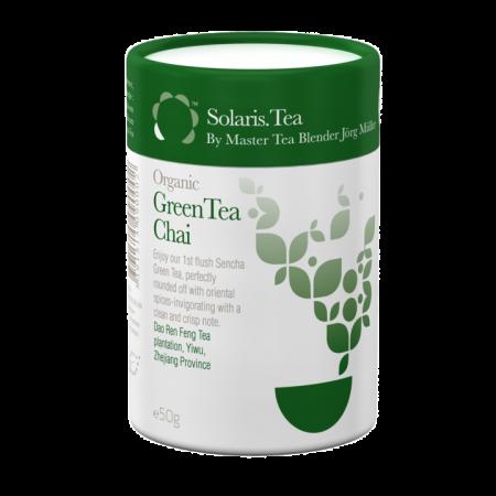 Ceai Organic Verde Chai Frunze Cilindru 50gr [0]