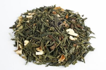 Ceai Organic Verde Chai Frunze Cilindru 50gr [1]