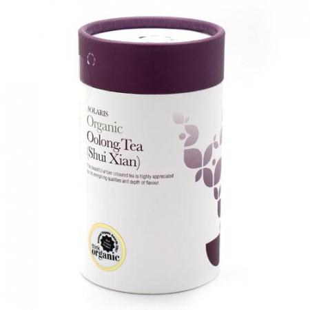 Ceai Organic Oolong (Shui Xian) Frunze Cilindru 75gr0
