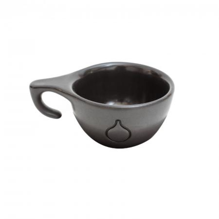 Ceasca Cappuccino Dropshot Negru Mat [0]