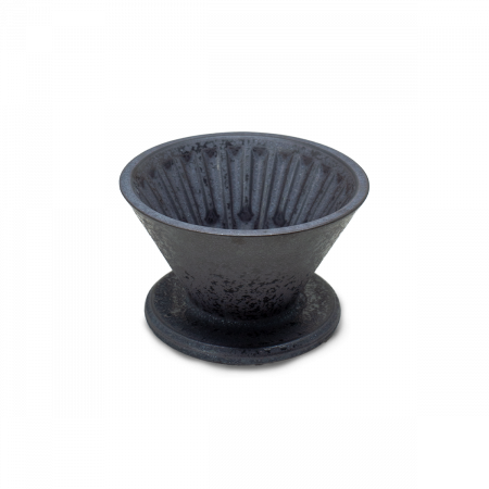 """Dripper Ceramica """"Crystal Eye"""" Negru cu suport Timemore [0]"""