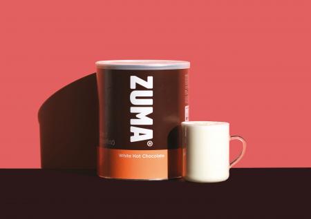 Ciocolata calda alba 2kg Zuma2