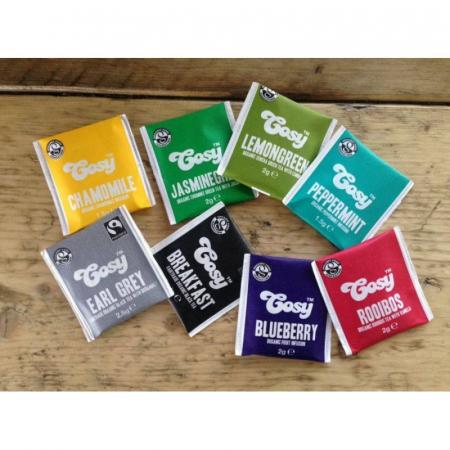 Cosy Ceai Organic Verde cu Iasomie - 20 plicuri [5]