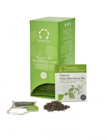 Ceai Organic Verde Chun Mee 40 plicuri [2]
