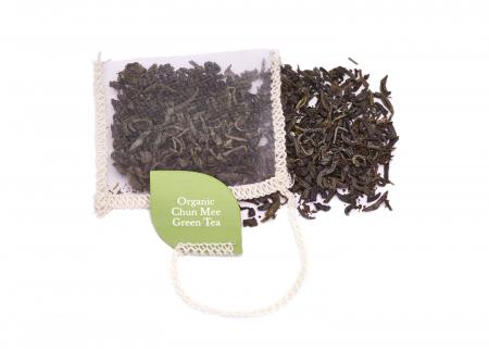 Ceai Organic Verde Chun Mee 40 plicuri [4]