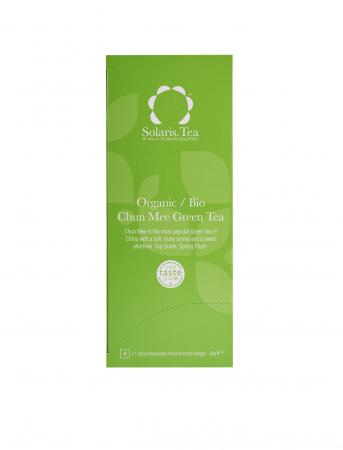 Ceai Organic Verde Chun Mee 40 plicuri [1]