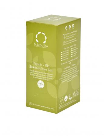 Ceai Organic Verde Iasomie 40 plicuri0