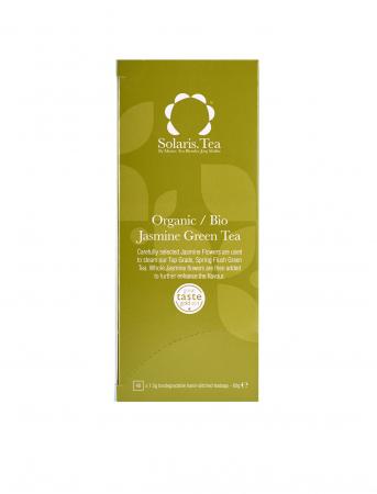 Ceai Organic Verde Iasomie 40 plicuri1