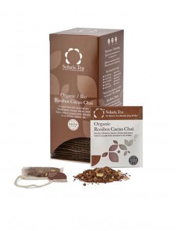 Ceai Organic Rooibos Cacao Chai 40 plicuri2
