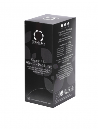 Ceai Organic Alb 40 plicuri0