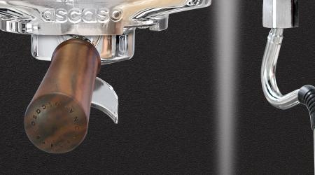 Espressor Ascaso Steel DUO PID (versatil) Alb &Lemn - 1 grup14