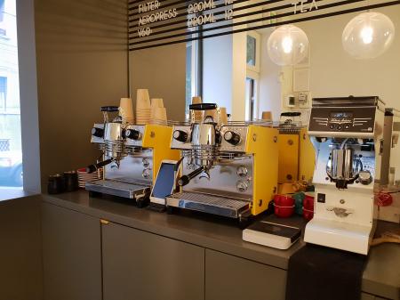 Espressor Dalla Corte MINA SH Yellow9