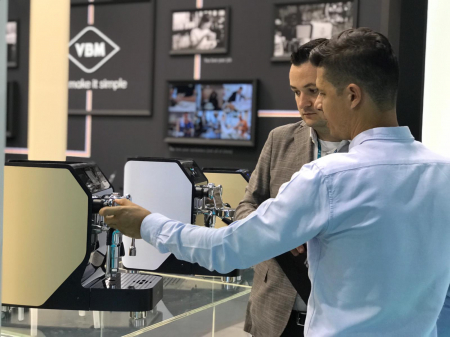 Espressor profesional VIBIEMME REPLICA HX MANUALE - 3 grupuri3