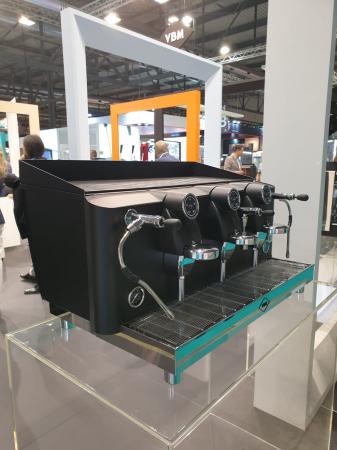 Espressor VIBIEMME Lollo Elettronica - 3 grupuri [12]