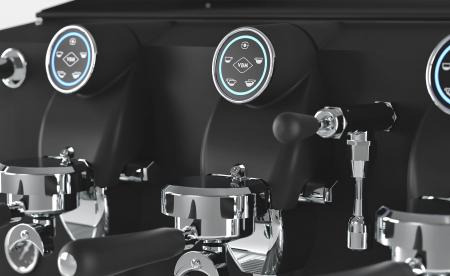 Espressor VIBIEMME Lollo Elettronica - 3 grupuri [3]