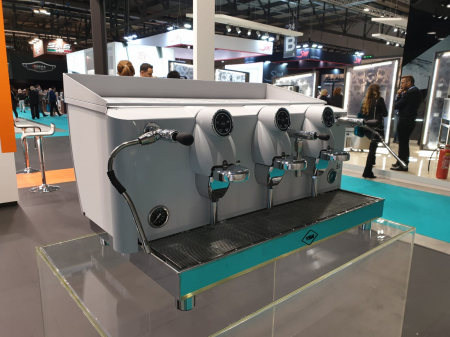 Espressor VIBIEMME Lollo Semiautomatica - 3 grupuri [7]