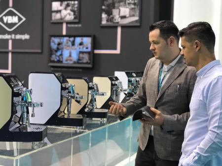 Espressor profesional VIBIEMME REPLICA HX ELETTRONICA - 4 grupuri3