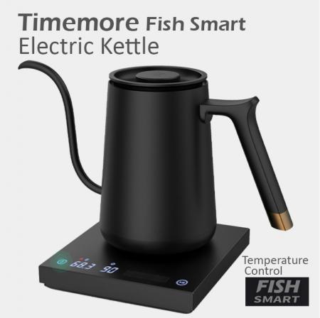 "Fierbator electric pentru acasa 600ml negru  ""FISH SMART"" Timemore [8]"