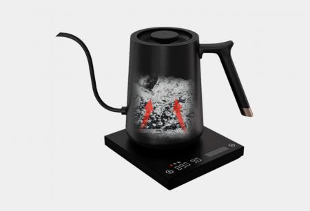 "Fierbator electric pentru acasa 600ml negru  ""FISH SMART"" Timemore [6]"
