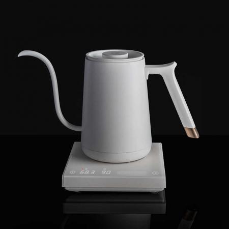 "Fierbator electric apa pentru acasa 600ml alb ""FISH SMART"" Timemore [6]"