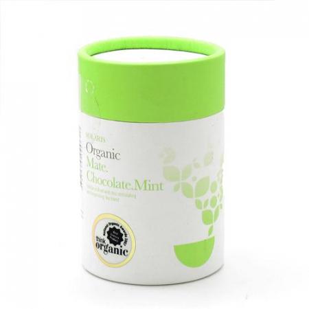 Ceai Organic Mate Cacao Menta Frunze Cilindru 50gr0