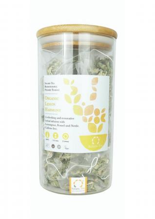Ceai Organic Lamaie 100 plicuri piramidale0