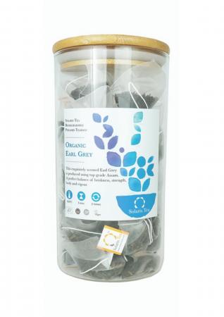 Ceai Organic Negru Earl Grey 100 plicuri piramidale [0]