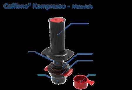 Garnitura silicon pentru Piston Cafflano Kompresso4