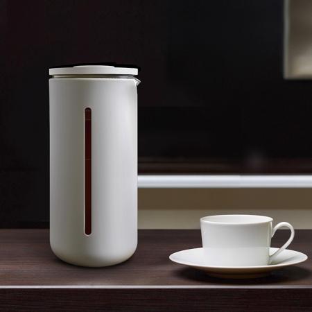 Presa franceza - ALB 450ml pentru cafea si ceai TIMEMORE [4]