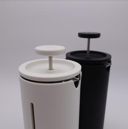 Presa franceza - ALB 450ml pentru cafea si ceai TIMEMORE [2]