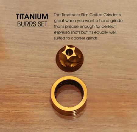 Rasnita manuală Slims Titan Timemore2