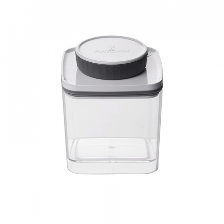 Recipient Turn-N-Seal ermetic pentru cafea si ceai 600 ml Gri [0]
