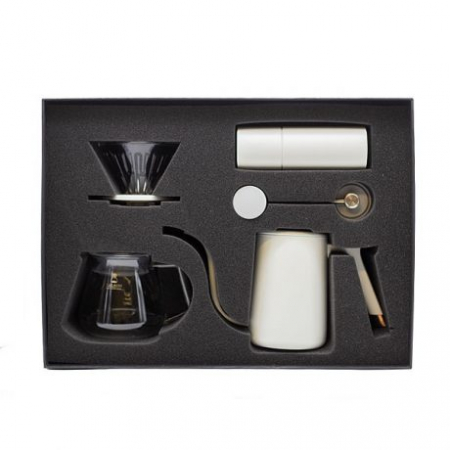 Set cadou C2 Pour over (Fish Pure) alb Timemore3