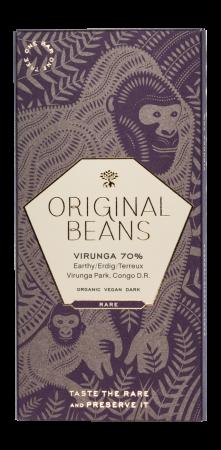Set Cadou 2 Tablete de Ciocolata Organica Virunga & Femmes1