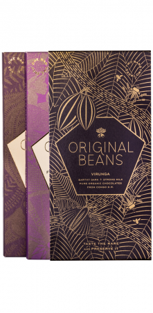 Set Cadou 2 Tablete de Ciocolata Organica Virunga & Femmes0