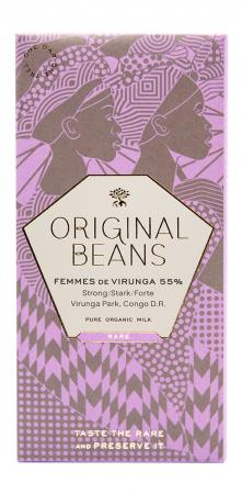 Set Cadou 2 Tablete de Ciocolata Organica Virunga & Femmes2