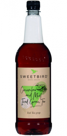 Sirop Sweetbird Cucumber & Mint Iced Green Tea - 1L0