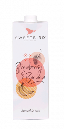 Smoothie Sweetbird Strawberry & Banana 1L0