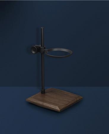 Suport negru pentru dripper din alama + lemn Timemore [1]