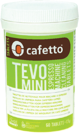 Tablete curatare espressor Tevo Mini - Cafetto0