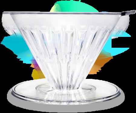 "Dripper plastic rezistent  ""Crystal Eye PC"" Timemore17"