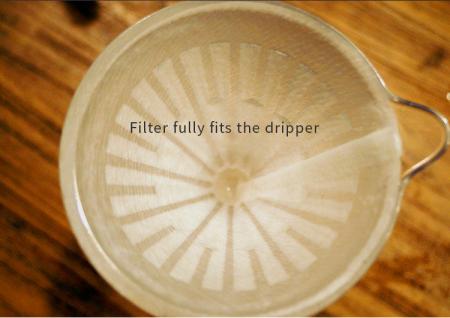 "Dripper plastic rezistent  ""Crystal Eye PC"" Timemore13"