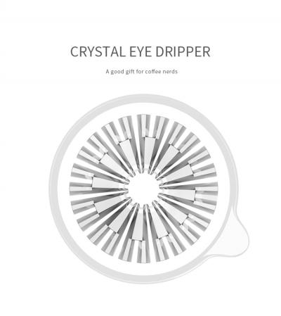 "Dripper plastic rezistent  ""Crystal Eye PC"" Timemore9"
