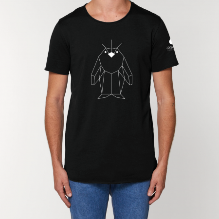 Tricou Negru Personalizat Dropshot Basic [0]