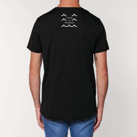 Tricou Negru Personalizat Dropshot Basic [1]