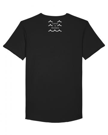 Tricou Negru Personalizat Dropshot Muscle [3]