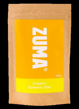 Pudra Turmeric Chai Organic 100g Zuma [0]
