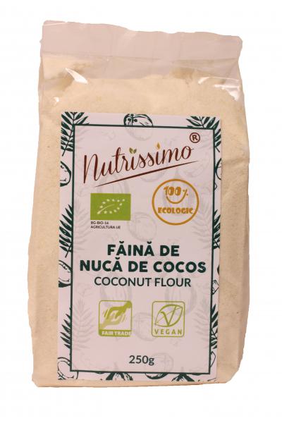 Faina din nuca de cocos ECO 250 GR 0