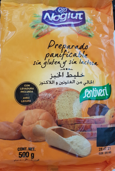Faina premix pentru paine cu drojdie fara gluten 500 GR 0