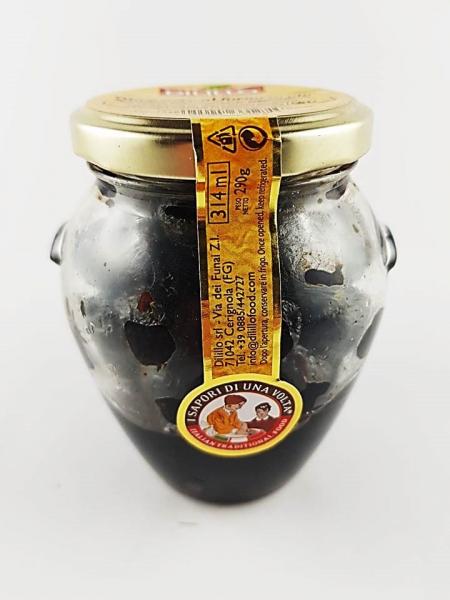 Masline negre la cuptor in ulei 314 gr 0